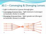 30 1 converging diverging lenses