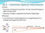 30 5 common optical instruments