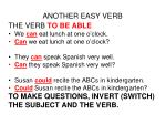 another easy verb
