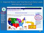 c impaired waters and total maximum daily loads www epa gov waters tmdl