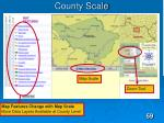 county scale