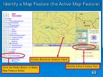 identify a map feature the active map feature