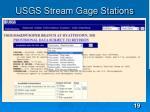 usgs stream gage stations
