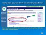 www epa gov owow watershed wacademy