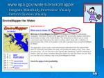 www epa gov waters enviromapper integrate waterbody information visually perform queries visually
