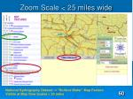 zoom scale 25 miles wide