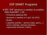 ehf smart programe