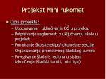 projekat mini rukomet1