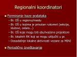 regionalni koordinatori