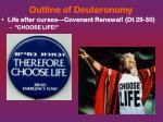 outline of deuteronomy2