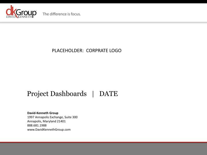 project dashboards date n.