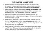 the earth s ionosphere