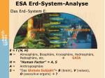 esa erd system analyse2