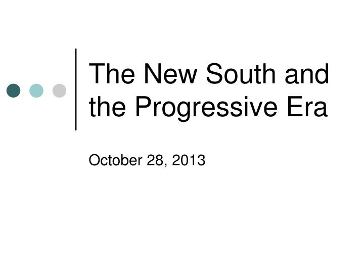 progressive era and the new deal If pundits really want to pay tribute to the central state, they should look beyond the new deal and consider the watershed years of the progressive era.