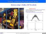 cooling enhancing the phase space density