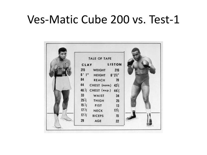 ves matic cube 200 vs test 1 n.