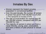 inmates by sex