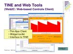 tine and web tools web2c web based controls client