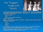 the flapper image and reality
