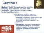 gallery walk 1
