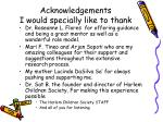 acknowledgements i would specially like to thank