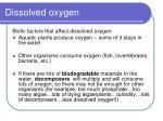 dissolved oxygen1