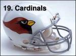 19 cardinals