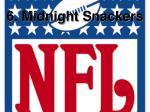 6 midnight snackers