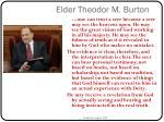 elder theodor m burton