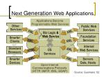 next generation web applications