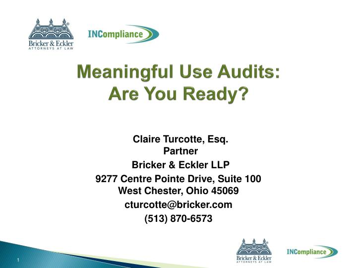 meaningful use audits are you ready n.