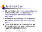 sun s definition