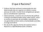 o que racismo1