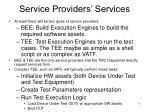service providers services