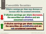 convertible securities2