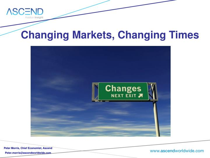 changing markets changing times n.