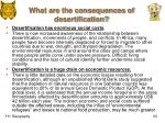 what are the consequences of desertification3