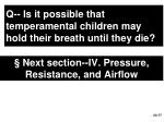 next section iv pressure resistance and airflow