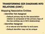 transforming eer diagrams into relations cont2