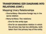 transforming eer diagrams into relations cont3