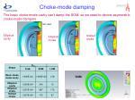 choke mode damping