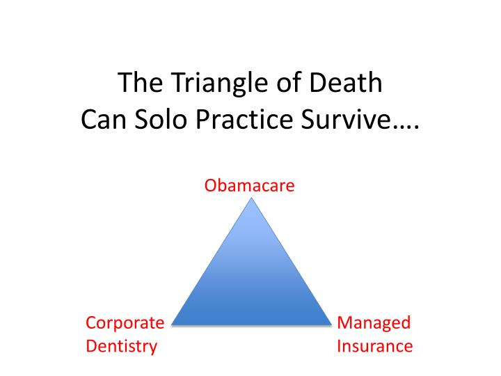 the triangle of death can solo practice survive n.