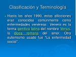 clasificaci n y terminolog a2