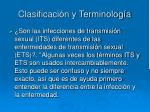 clasificaci n y terminolog a3