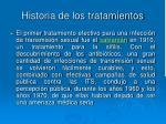 historia de los tratamientos1