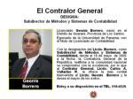 el contralor general designa subdirector de m todos y sistemas de contabilidad