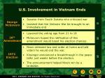 u s involvement in vietnam ends