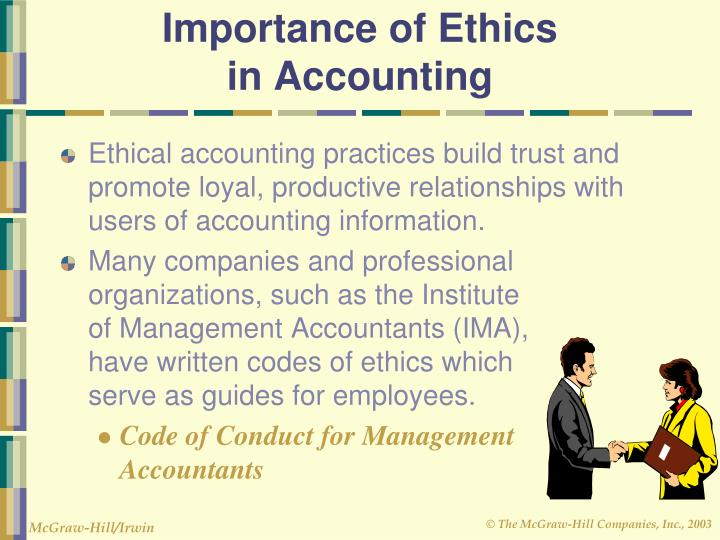 Importance of Ethics