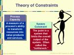 theory of constraints1