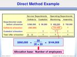 direct method example2